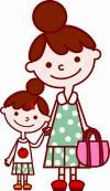 管理人と子供の画像